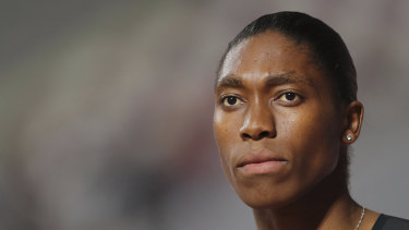 Controversy: Caster Semenya has been denied entry to a race meeting in Morocco.