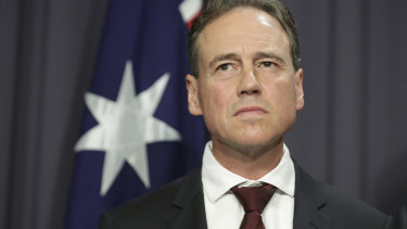 Minister for Health Greg Hunt said Australia was deep in preparation for the virus to spread throughout the community.