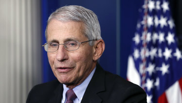 Dr Anthony Fauci.