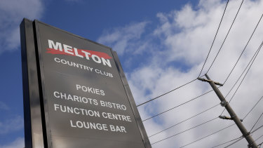 Essendon Football Club's plan to continue operating Melton Country Club has been temporarily blocked.