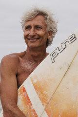 Adriaan van der Wallen,founder of the surf board library.