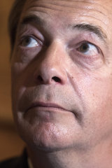 The one to watch ... Nigel Farage, leader of the Brexit Party.