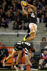 Curnow flies high against the Magpies in 2018