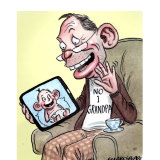 Tony Abbott is now a grandfather.