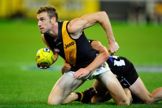 "Jack Riewoldt described the late Shane Tuck, pictured, as an ""extremely loveable character""."