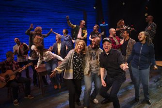 The cast of Come From Away has been stood down without pay due to the pandemic.