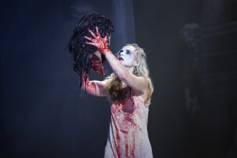 """The 2020 production of Salome by Victorian Opera. VO chief executive Elizabeth Hill thanked the community for """"reaching out to us with your concerns around diversity and inclusion"""" in relation to the rock opera Tommy."""