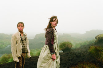 Solomon Glave and Shannon Beer in the 2011 film adaptation of Wuthering Heights, which was filmed in Yorkshire.