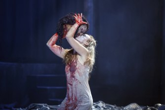 Cameron Menzies directed the gory Salome for Victorian Opera in 2020