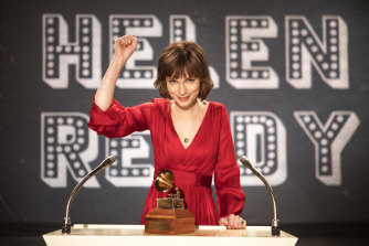 "Tilda Cobham-Hervey who plays Helen Reddy in ""I Am Woman""."