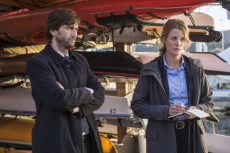 Broadchurch 2.0: David Tennant and Anna Gunn in Gracepoint.