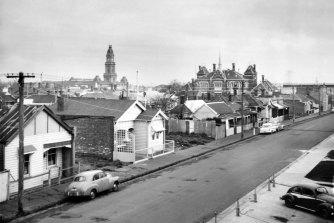 Collingwood slums in 1964.
