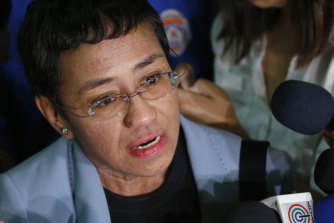 Philippine journalist Maria Ressa, who won the Noble Prize this year, has been subject to numerous online threats.