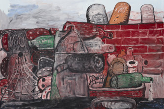 Arguably one of the great artists of the late 20th century: Philip Guston's East Tenth (1977).