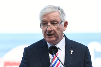 Melbourne Racing Club chairman Peter Le Grand