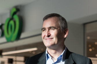 Woolworths CEO Brad Banducci.