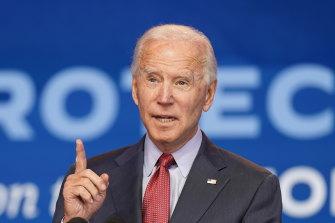 Democratic presidential challenger Joe Biden has urged Americans to vote early.