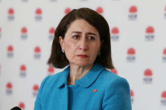 """Gladys Berejiklian said on Sunday the government would """"pursue all opportunities to provide more assistance"""" for those affected by Sydney's lockdown."""