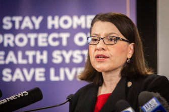 Jenny Mikakos resigned as Victorian health minister last month.