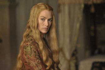 Cersei Lannister (Lena Heady) rues her bad luck in being born female.