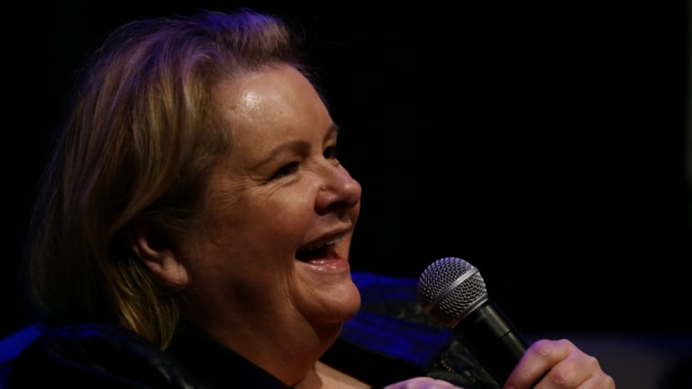 Magda Szubanski was paid $16,500 to speak at an event promoting the International Day Against Homophobia, Biphobia, Intersexism and Transphobia.