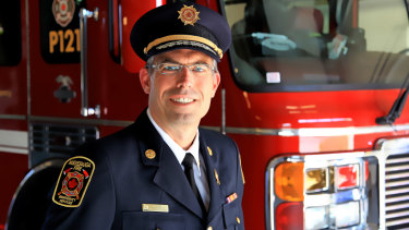Tim Beckett, Fire Chief, Mississauga, Ontario, Canada.