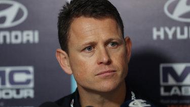Former Carlton coach Brendon Bolton.