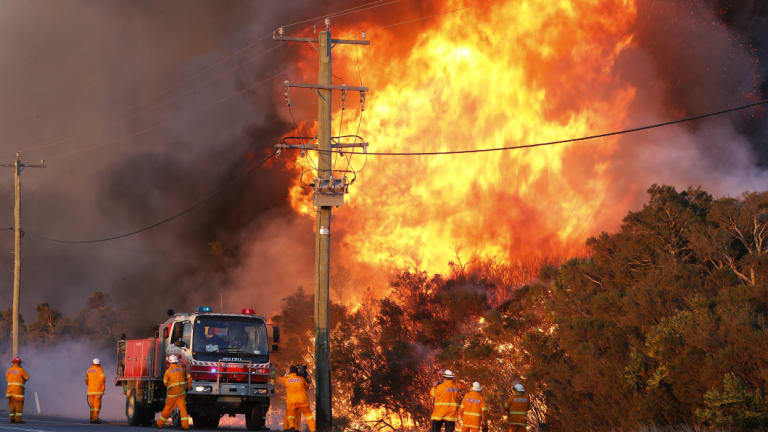 Fire-hit regions along the coast, such as near Salt Ash in the Hunter, may get some rain relief by next weekend.