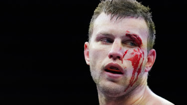 Jeff Horn suffered a boilover loss in Bendigo.