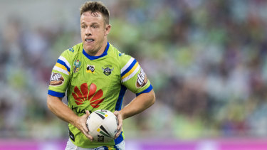 Canberra Raiders five-eighth Sam Williams wants to leave his mark on the Green Machine.