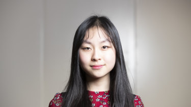 Sixteen-year-old Selina Li says Canberra's college system allows teenagers to slowly become adults.