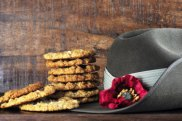 The iconic Anzac biscuit. One is seldom enough.
