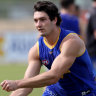 Barrass faces long spell on sidelines as Eagles fear the worst