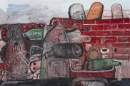 Philip Guston East Tenth 1977