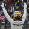Hamilton on pole for US Grand Prix, Ricciardo fourth