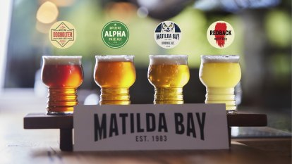 Redback to the future: Craft beer pioneer back on taps in WA homecoming