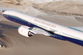 Boeing Business Jets BBJ 777X plane - world's longest range private jet
