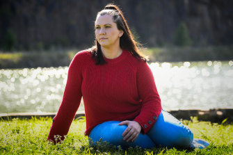 With no relatives in Melbourne, lockdown prompted Jaimee Barnett, 31, to start IVF in a bid to create her own family.