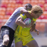 England end Australian hopes at the Las Vegas sevens