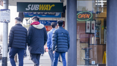The number of Subway stores around Australia is falling steadily every year.