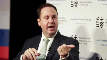 Trade Minister Steven Ciobo