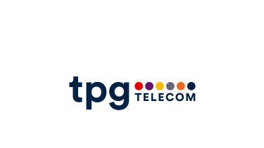 The new TPG Telecom logo.