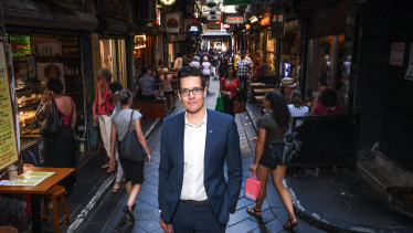 City of Melbourne Greens councillor Rohan Leppert supports the pro-testing proposal.
