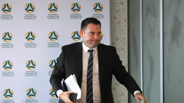 FFA chief executive James Johnson has announced 70 per cent of the organisation's workforce has been stood down.