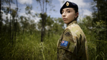 Captain Marium Hamimi says serving as an army pharmacist in Iraq has been the highlight of her career so far.