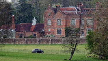 Chequers estate, where Boris Johnson will recuperate.