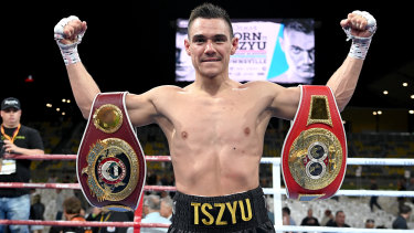 Tim Tszyu is set to fight at Bankwest Stadium.