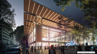 Construction is about to begin on the new Roma Street station.