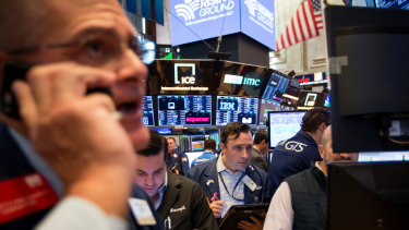 Traders at the New York Stock Exchange: US stocks took a breather on Friday.