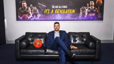 Quick turnaround: Bogut's signing for Sydney came about suddenly.
